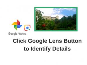 Google Photos and Google lens