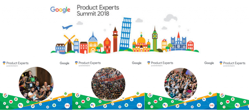 First Google Product Experts Summit 2018