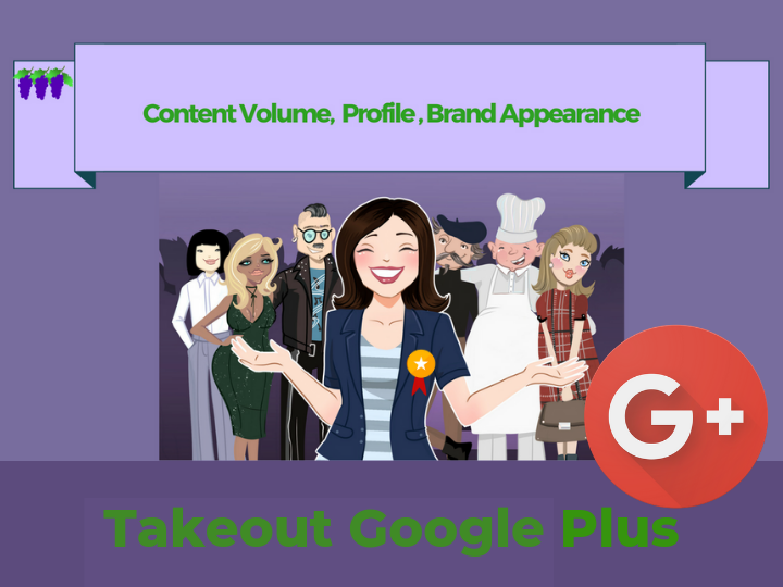Takeout Google Plus