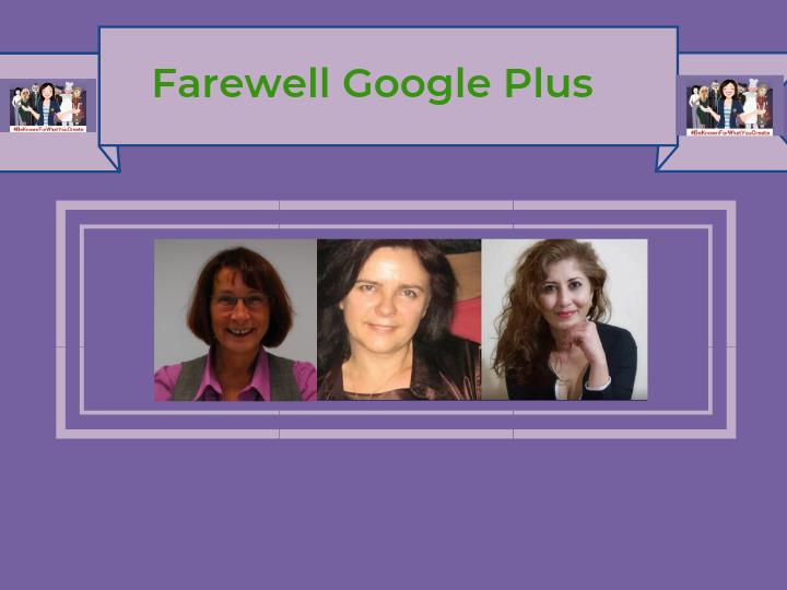Farewell Google Plus