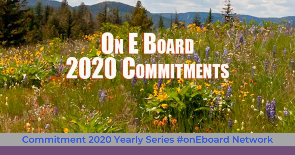Commitment 2020 On e Board