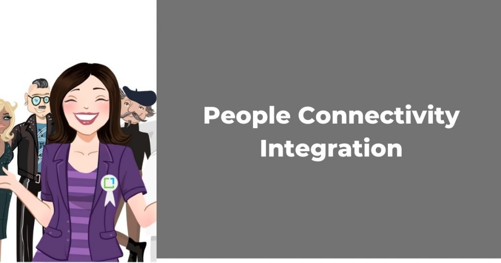 people connectivity integration